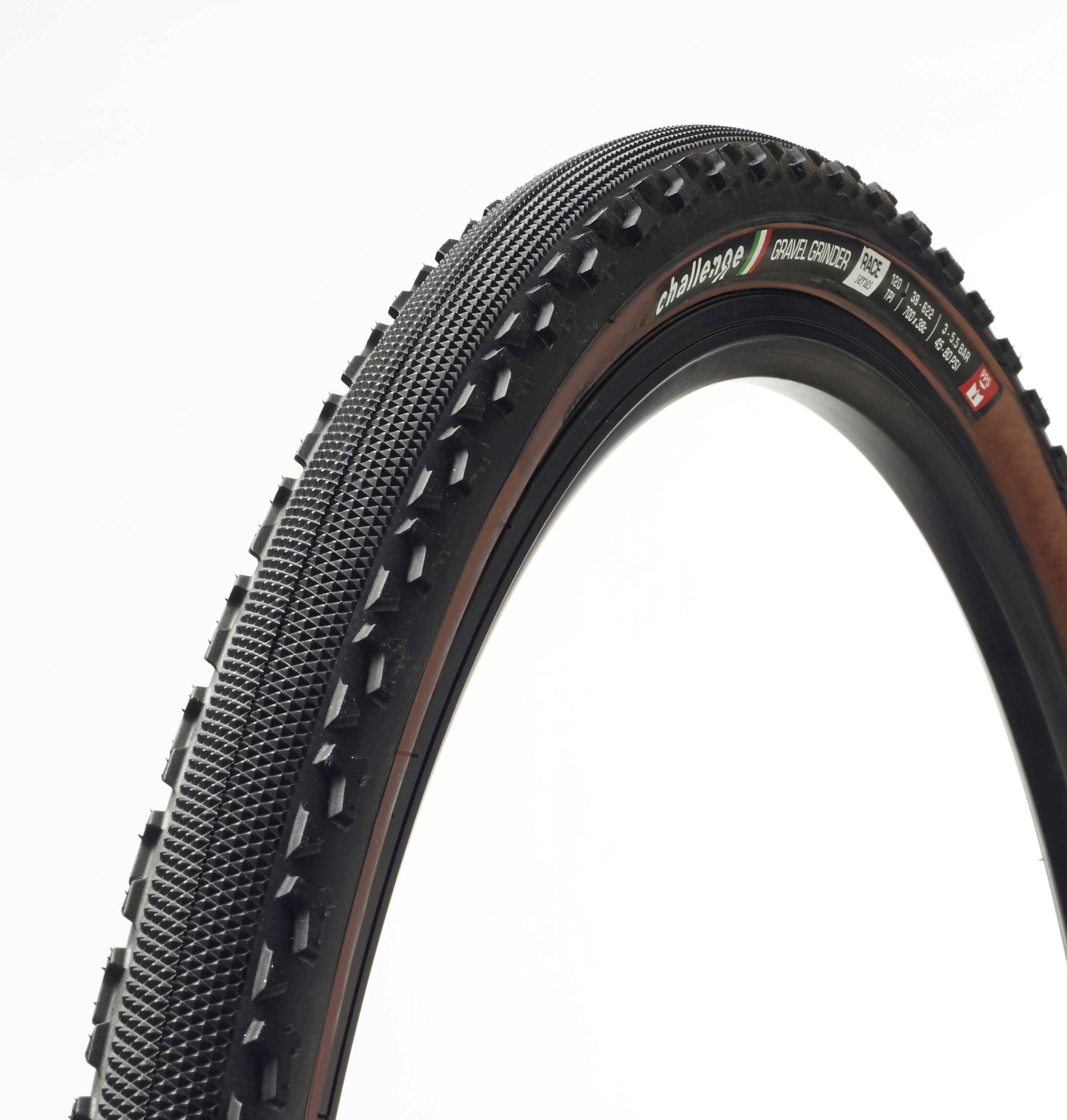 plaŠČ challenge gravel grinder race 38mm black/brown