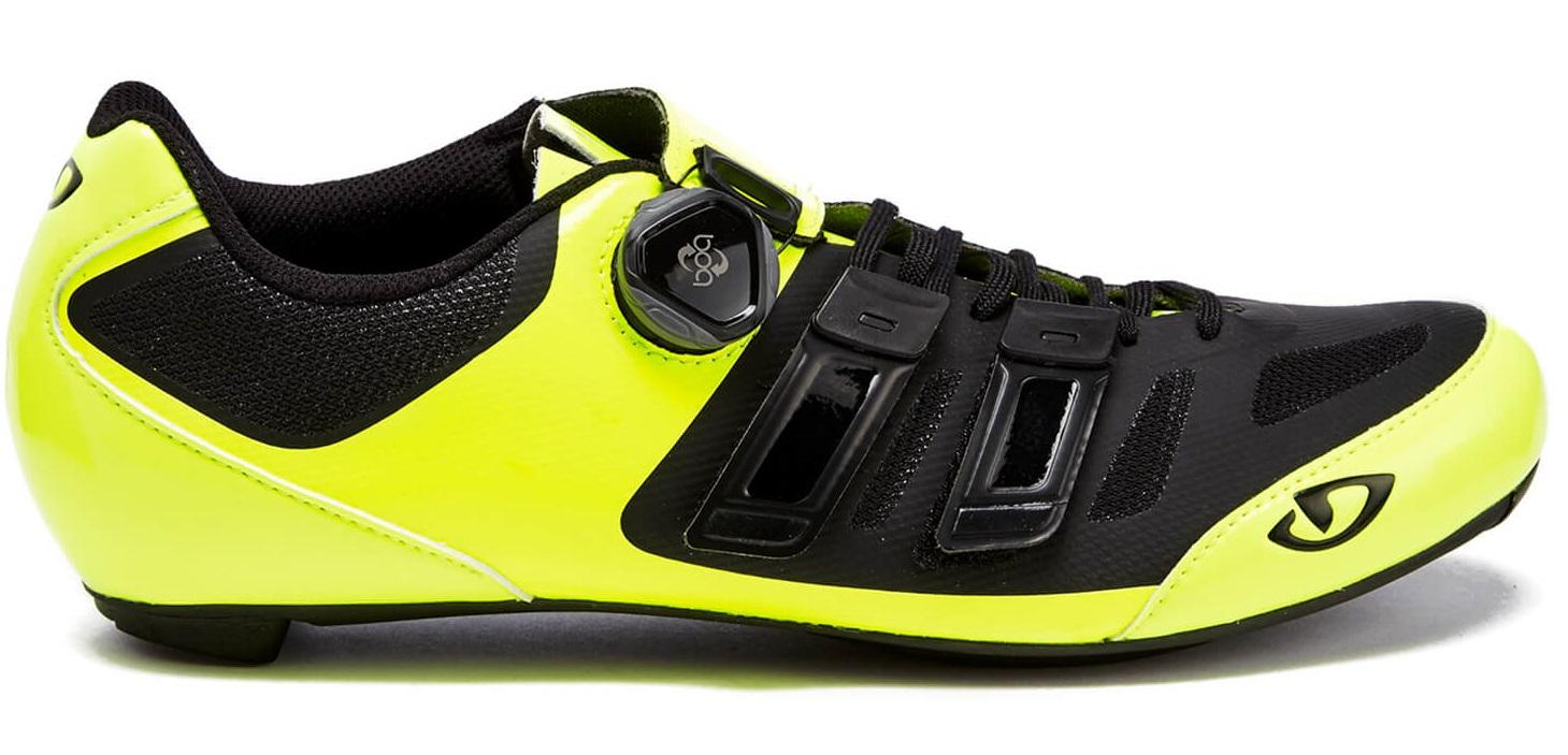 Čevlji giro sentrie techlace  highlight yellow/black