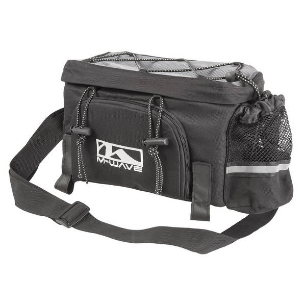 torba m-wave amsterdam exp bicycle carrier bag black