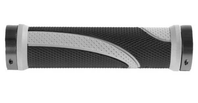 roČaj krmila m-wave lock on black/gray