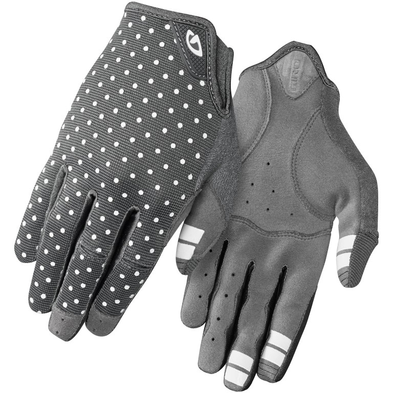 rokavice giro la dnd  dark shadow/white dots