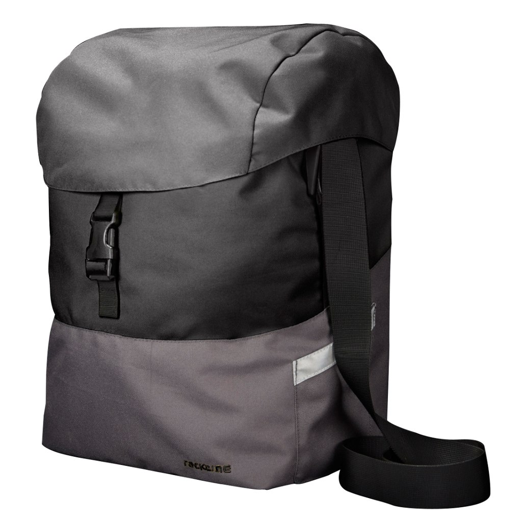torba racktime mare snap-it black carbon/grey