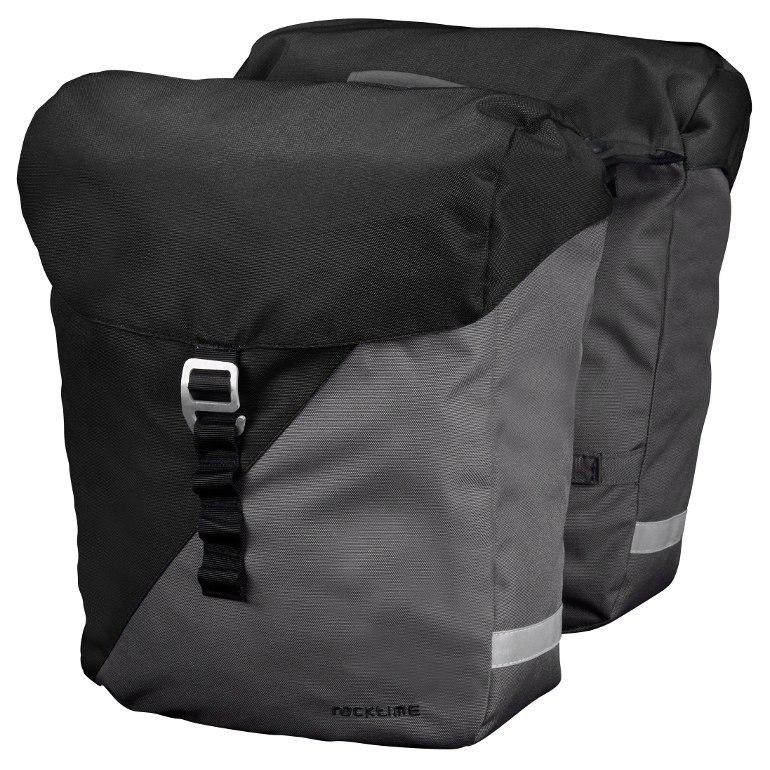 torba racktime vida snap-it black carbon/grey