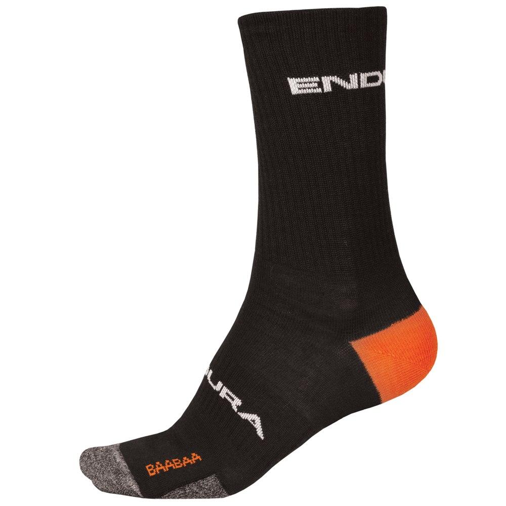 nogavice endura baabaa merino  winter sock ii