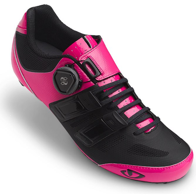 Čevlji giro raes techlace w bright pink/black