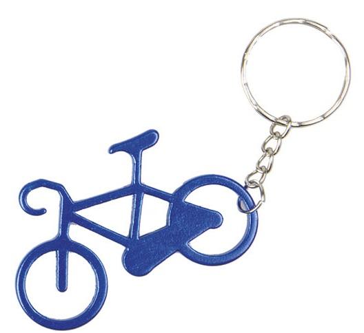 obesek bike key purple blue