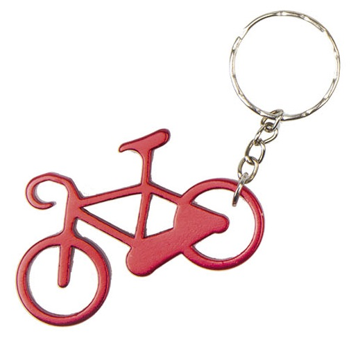 obesek bike key red