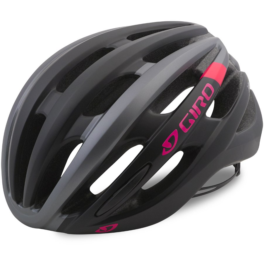 Čelada giro saga  matt black/pink race