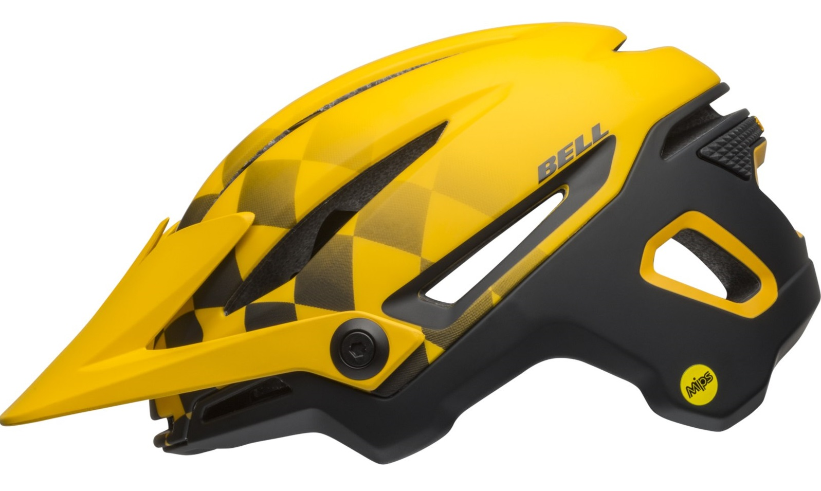 Čelada bell sixer mips  finishline matt yellow/black