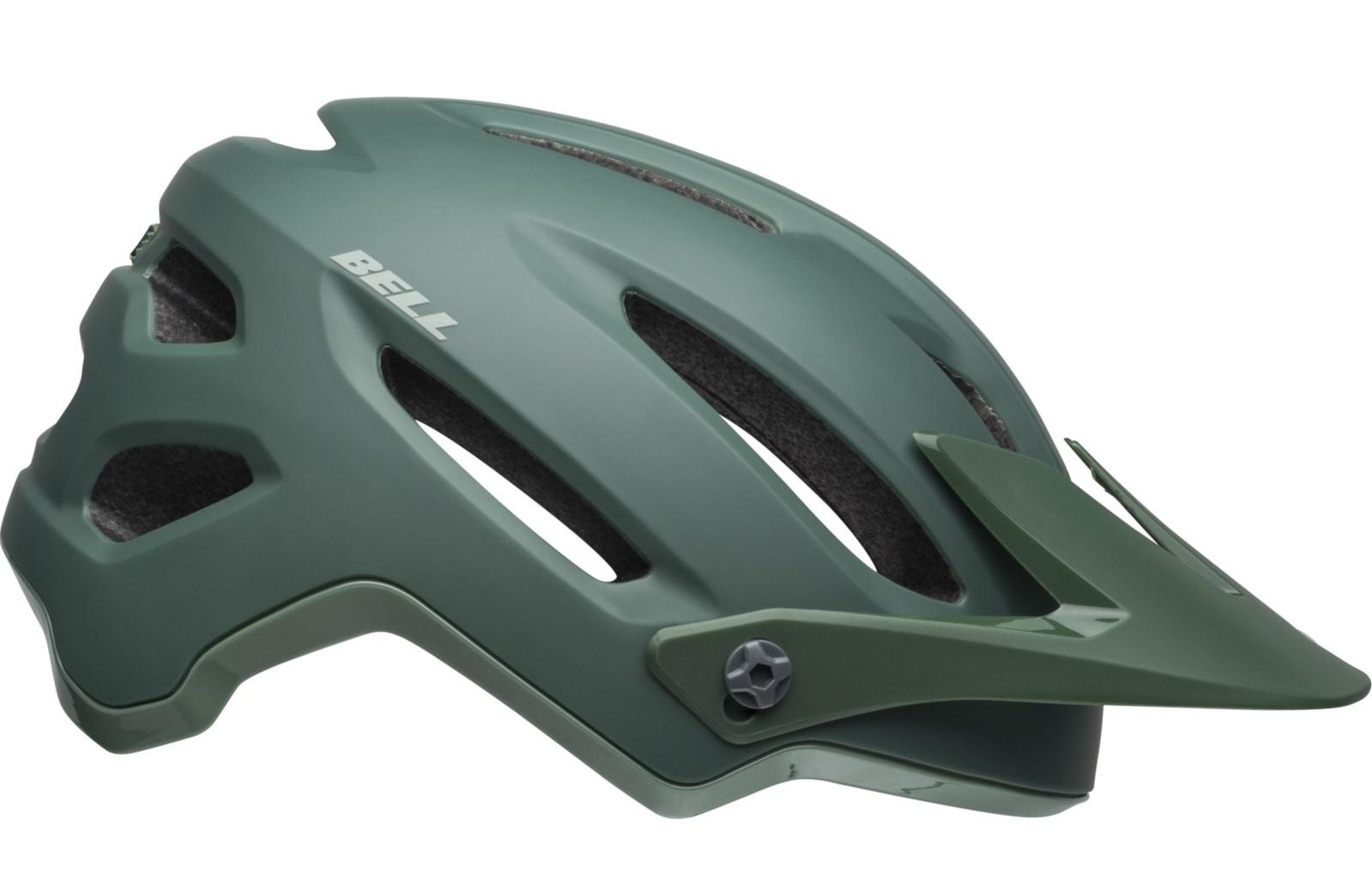Čelada bell 4forty mips cliffhanger matt/gloss dark green/bright green
