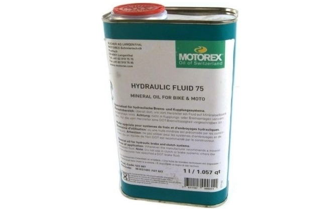 motorex hydraulic fluid 75 1l tekoČina za hidravliČne zavore