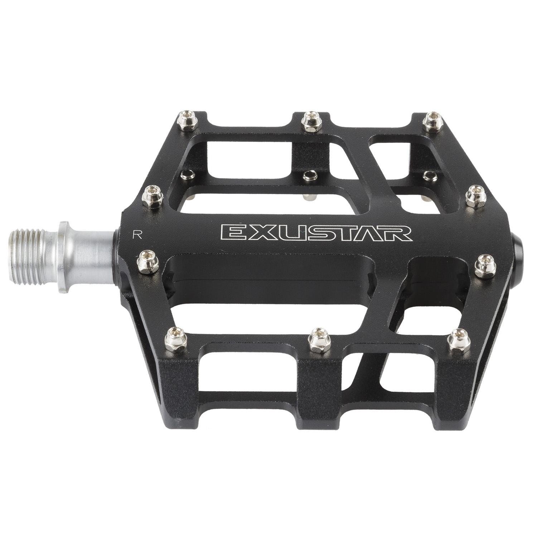 pedala exustar flat e-pb525 black