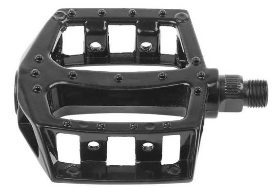pedala m-wave bmx flat 9/16 black alu