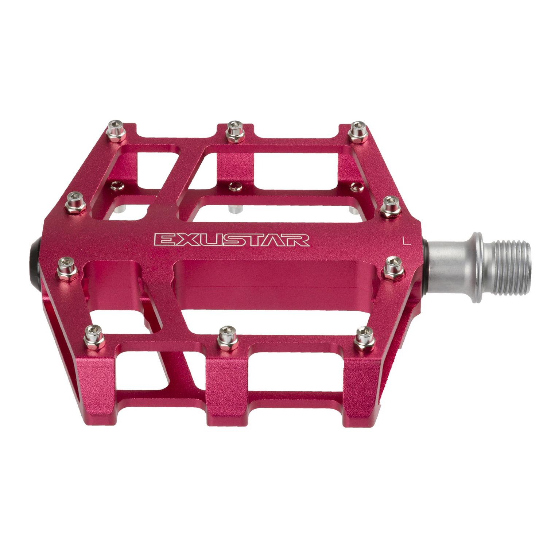 pedala exustar flat e-pb525 pink