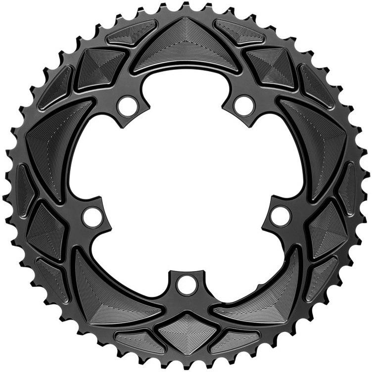 verižnik absolute black premium oval road r9100/r8000/r7000 52z black