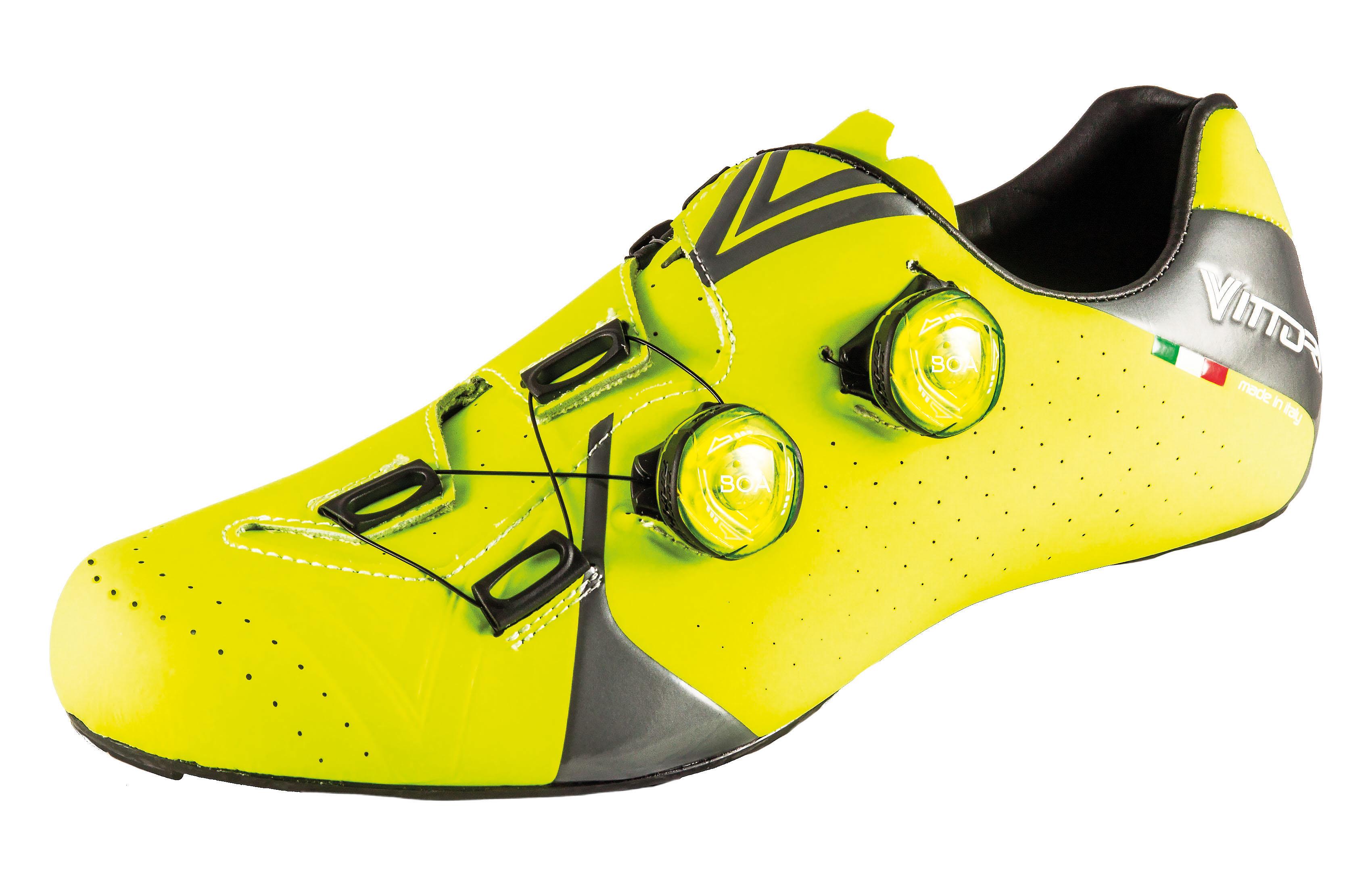 Čevlji vittoria velar   fct carbon neon yellow