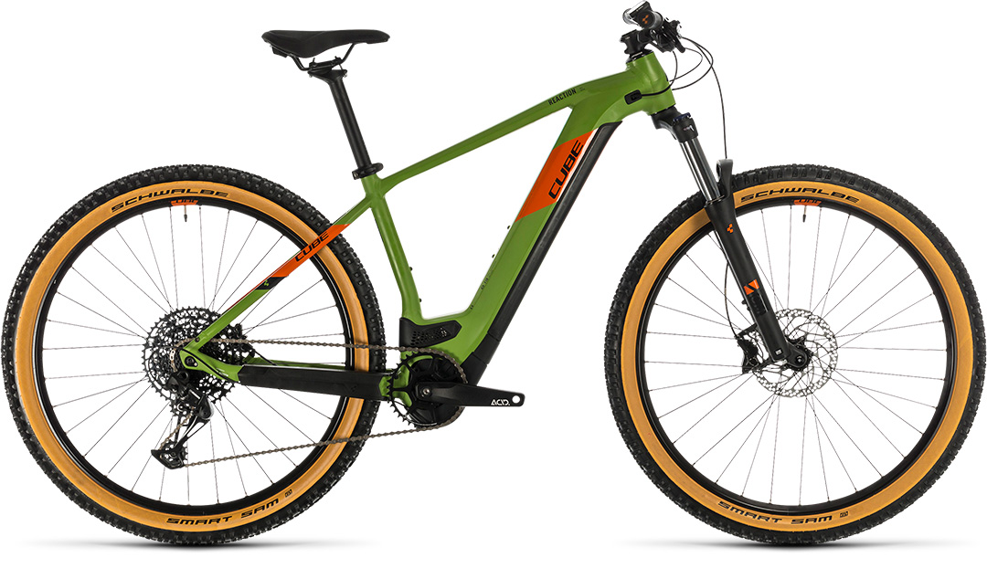 kolo cube hybrid ex 625 29 green´n´orange 2020