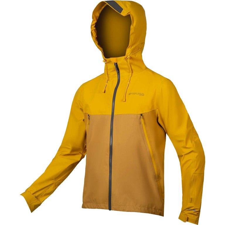 jakna endura mt500 waterproof ii mustard.