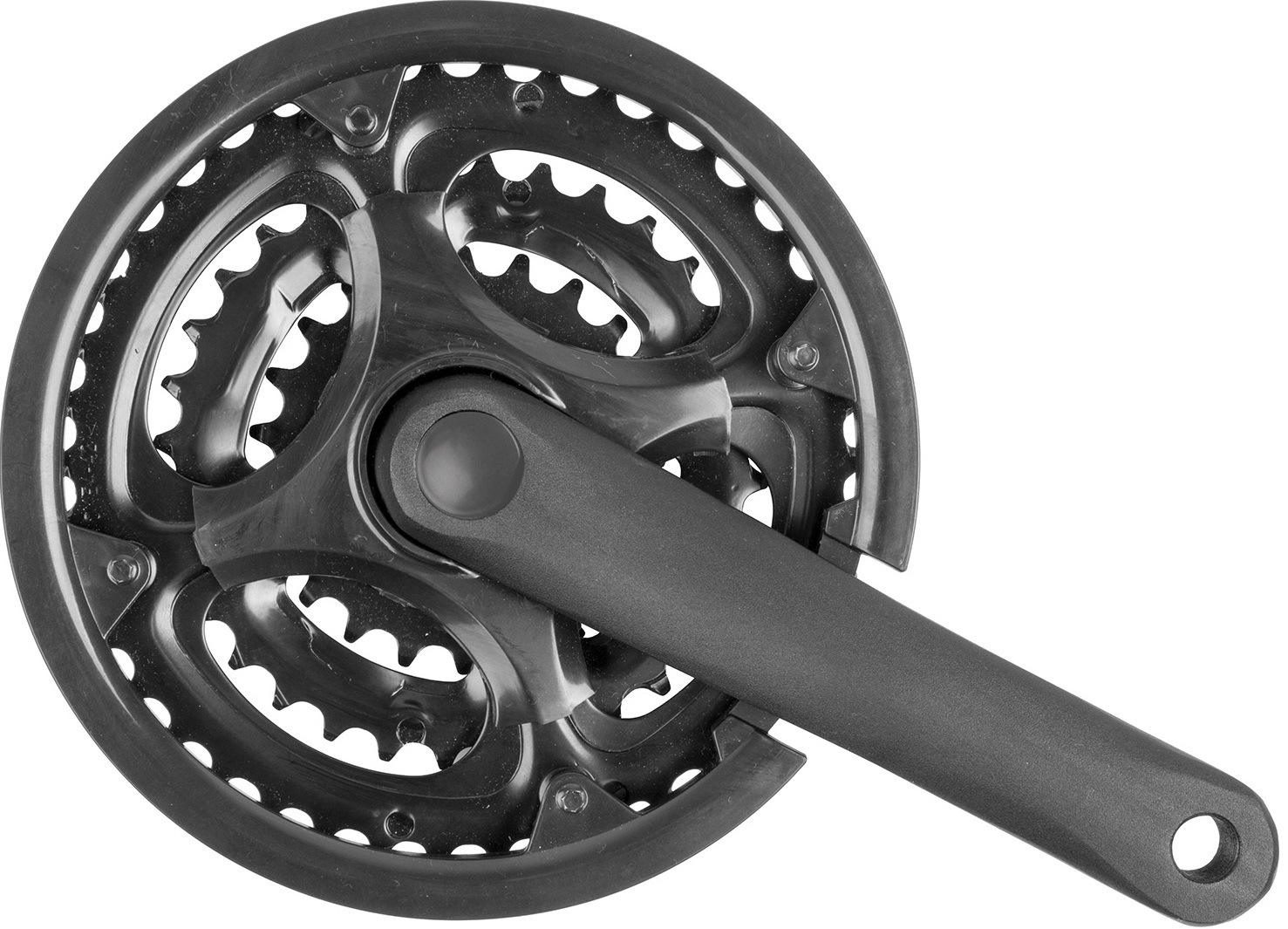 gonilke m-wave mtb set triple aloy 170mm 22/32/42t black