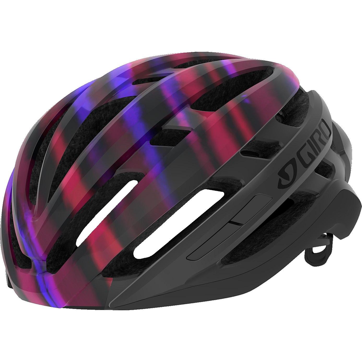 Čelada giro agilis w matt black electric purple