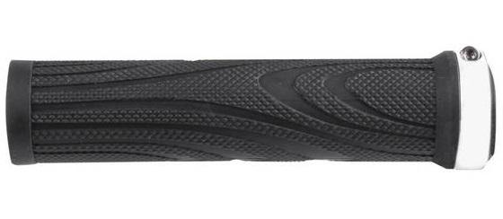 roČaj krmila m-wave screw-on grip black/white