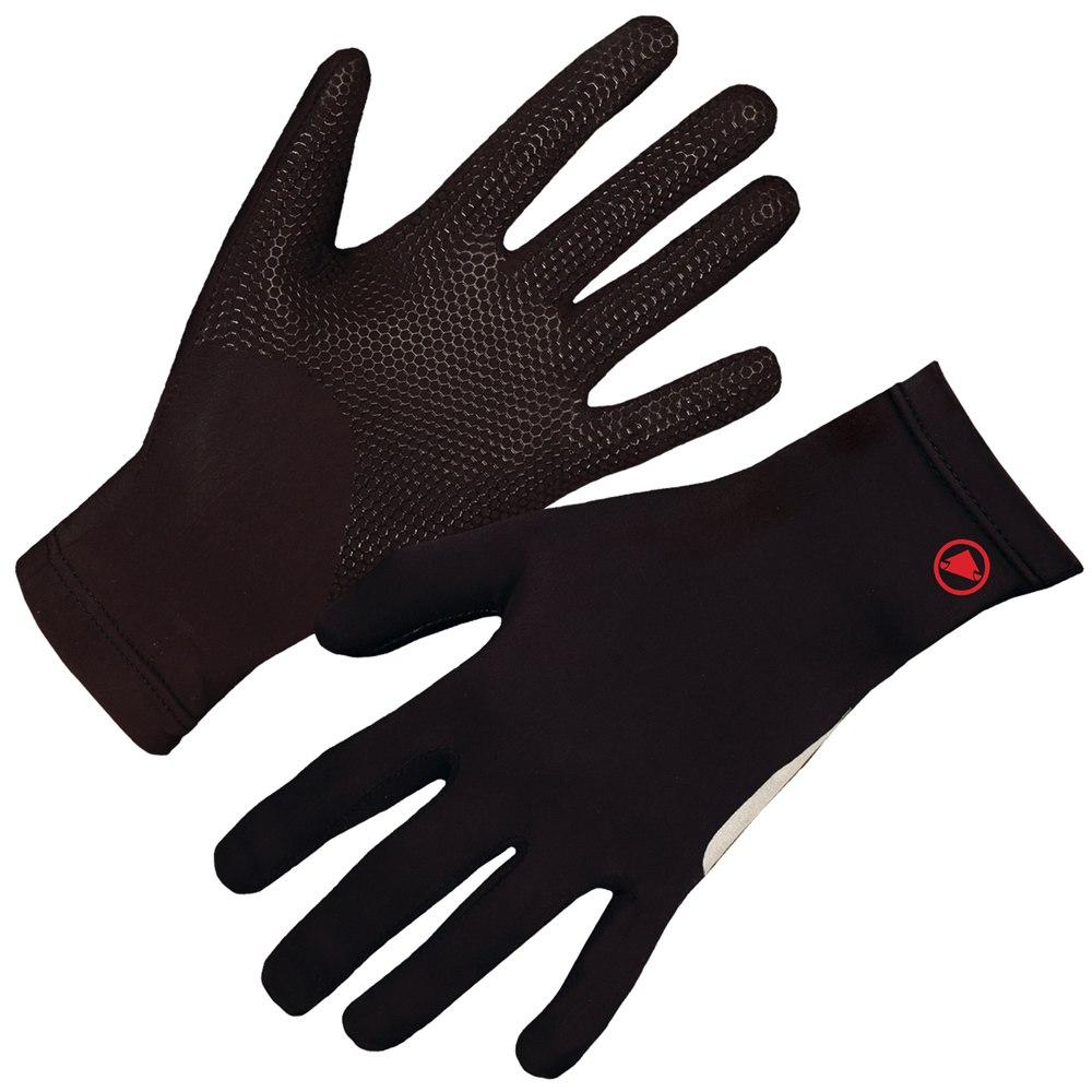 rokavice endura gripper fleece glove black