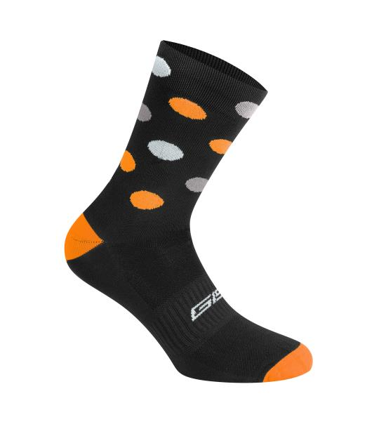 nogavice gist pois black/orange