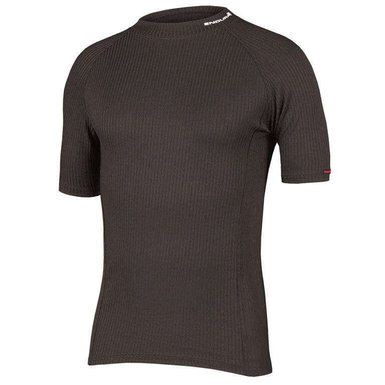 majica endura transrib s/s baselayer  black