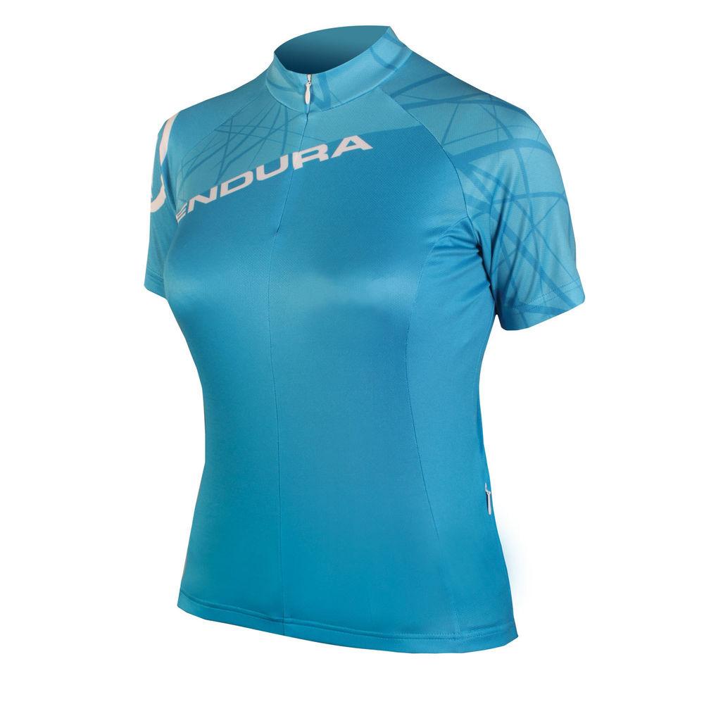 majica endura wmns singletrack s/s  ltd ultramarine
