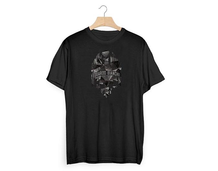 majica bianchi t-shirt diamonds black