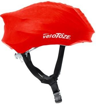 velotoze helmet cover red