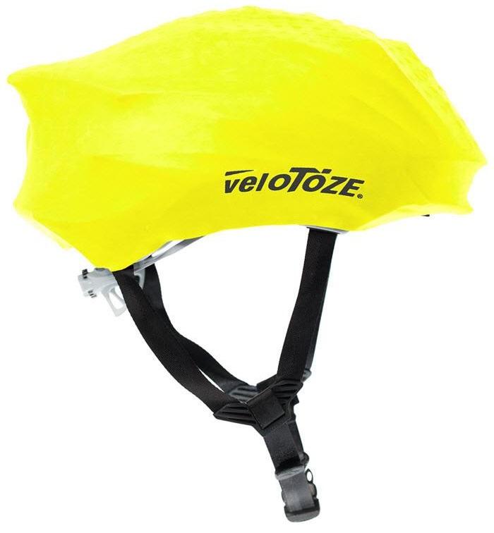 velotoze helmet cover yellow