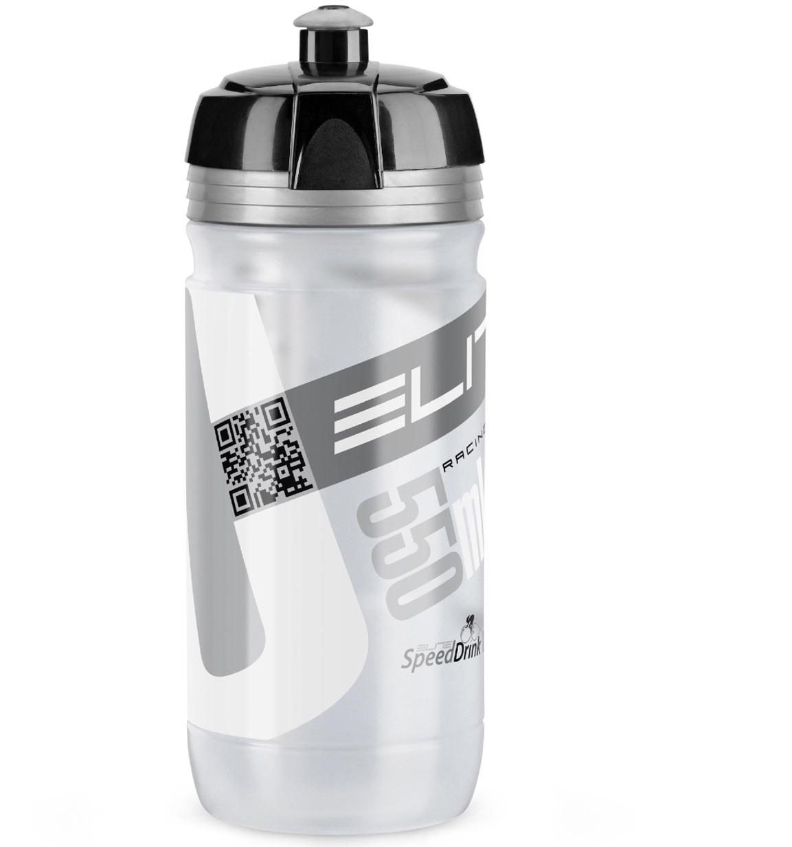 plastenka elite corsa  clear/silver 550ml