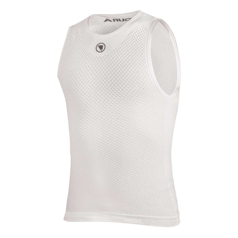 majica endura fishnet s/l baselayer white