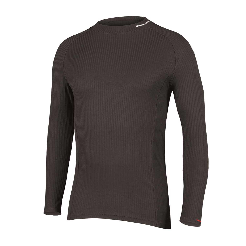 majica endura transrib l/s baselayer  black