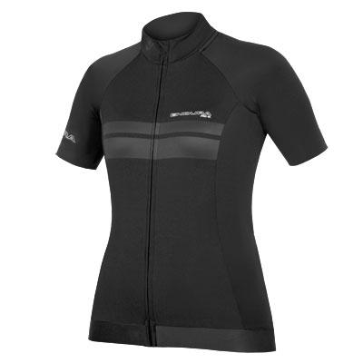 majica endura wms pro sl s/s jersey black