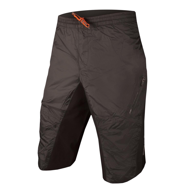 hlaČe endura superlite waterproof  shorts black