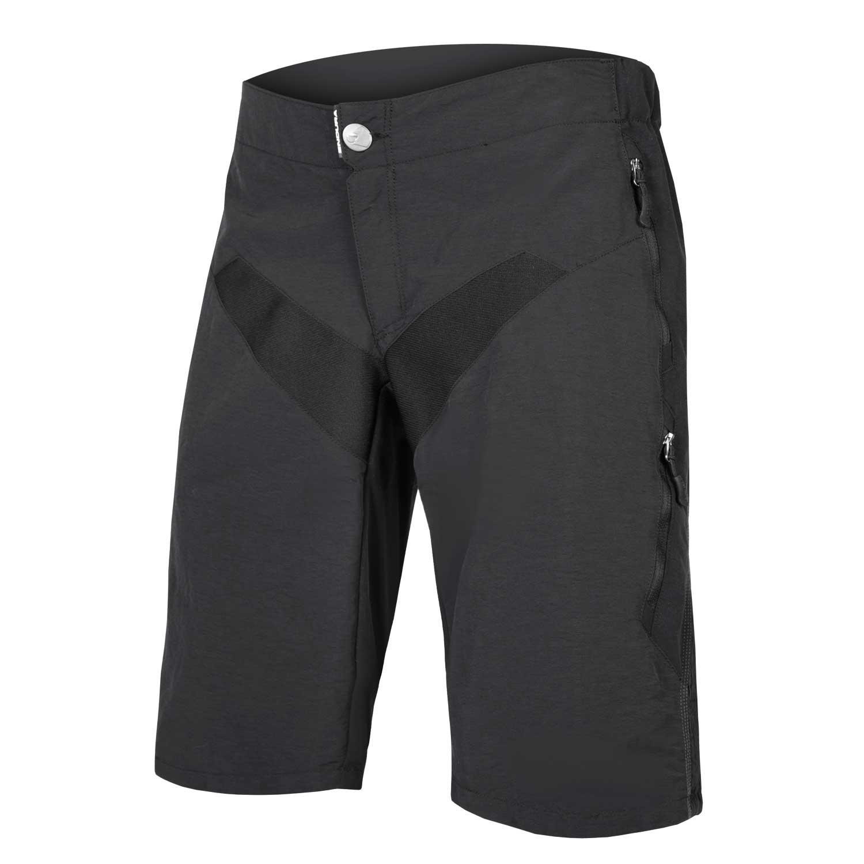 hlače kratke endura singletrack black.