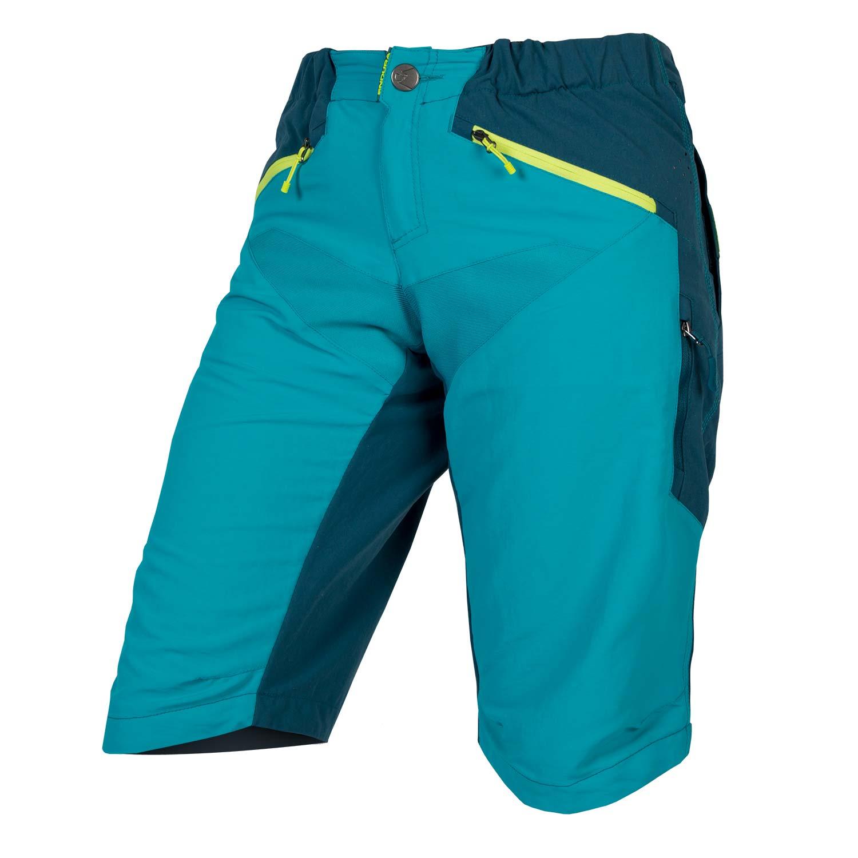 hlače kratke endura wms singletrack pacific blue.