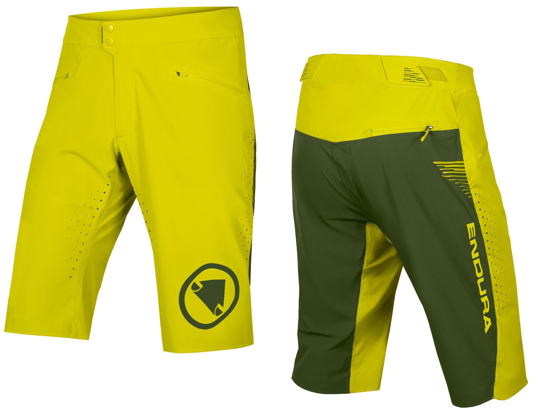 hlače kratke endura singletrack lite short standard fit forest green