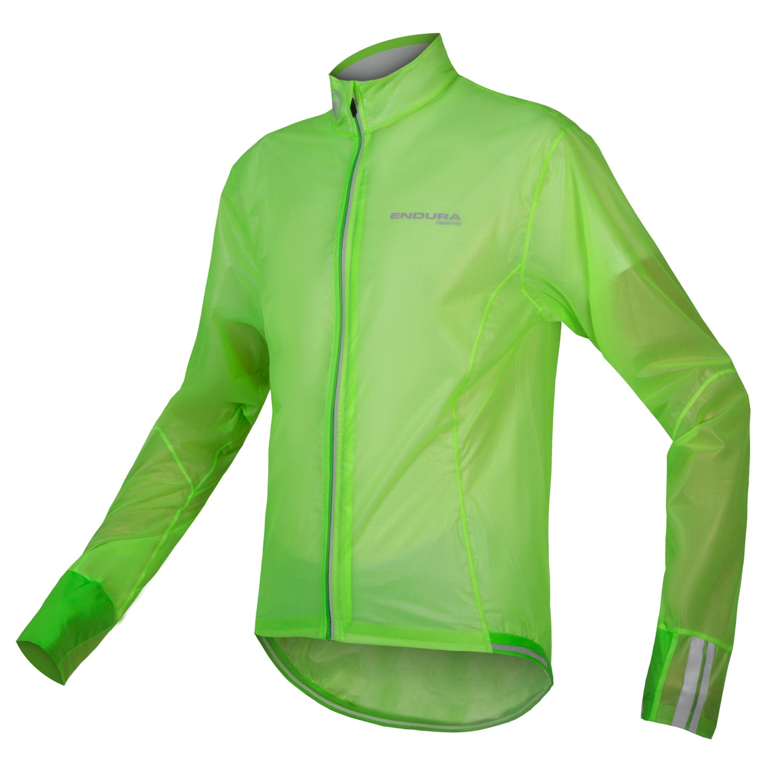 vetrovka endura fs260-pro adrenaline  race cape ii hi-viz green.