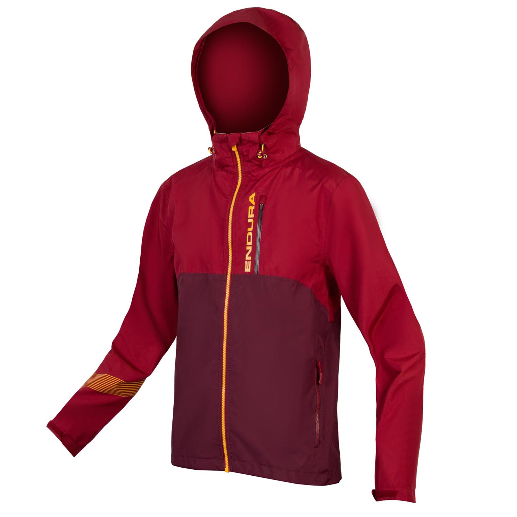 jakna endura singletrack jacket ii claret