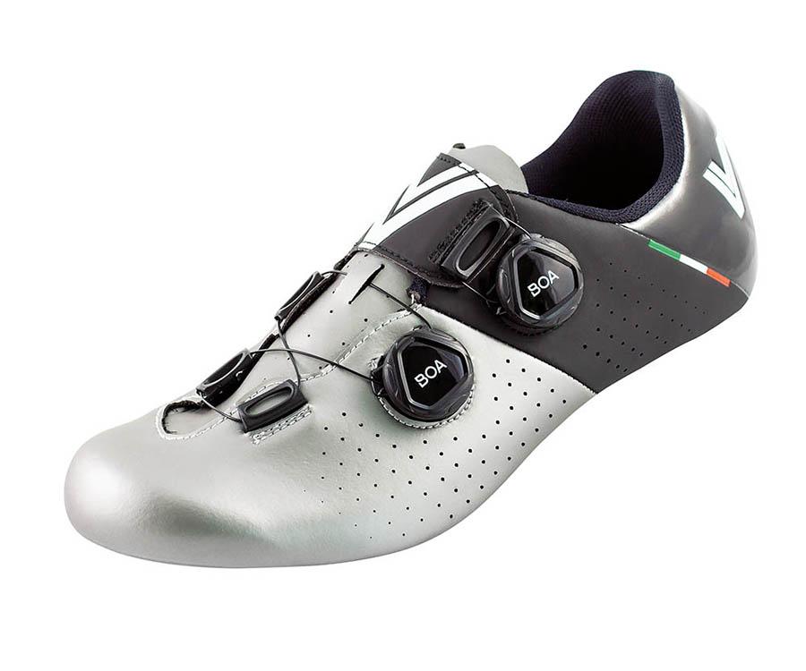 Čevlji vittoria stelvio ud-carbon silver/black