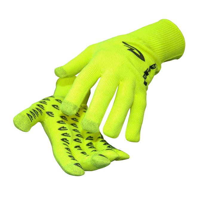 rokavice defeet duraglove et  hi-viz yellow reflective