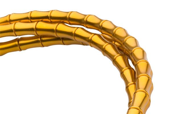 kabel jagwire road elite link   shift set gold