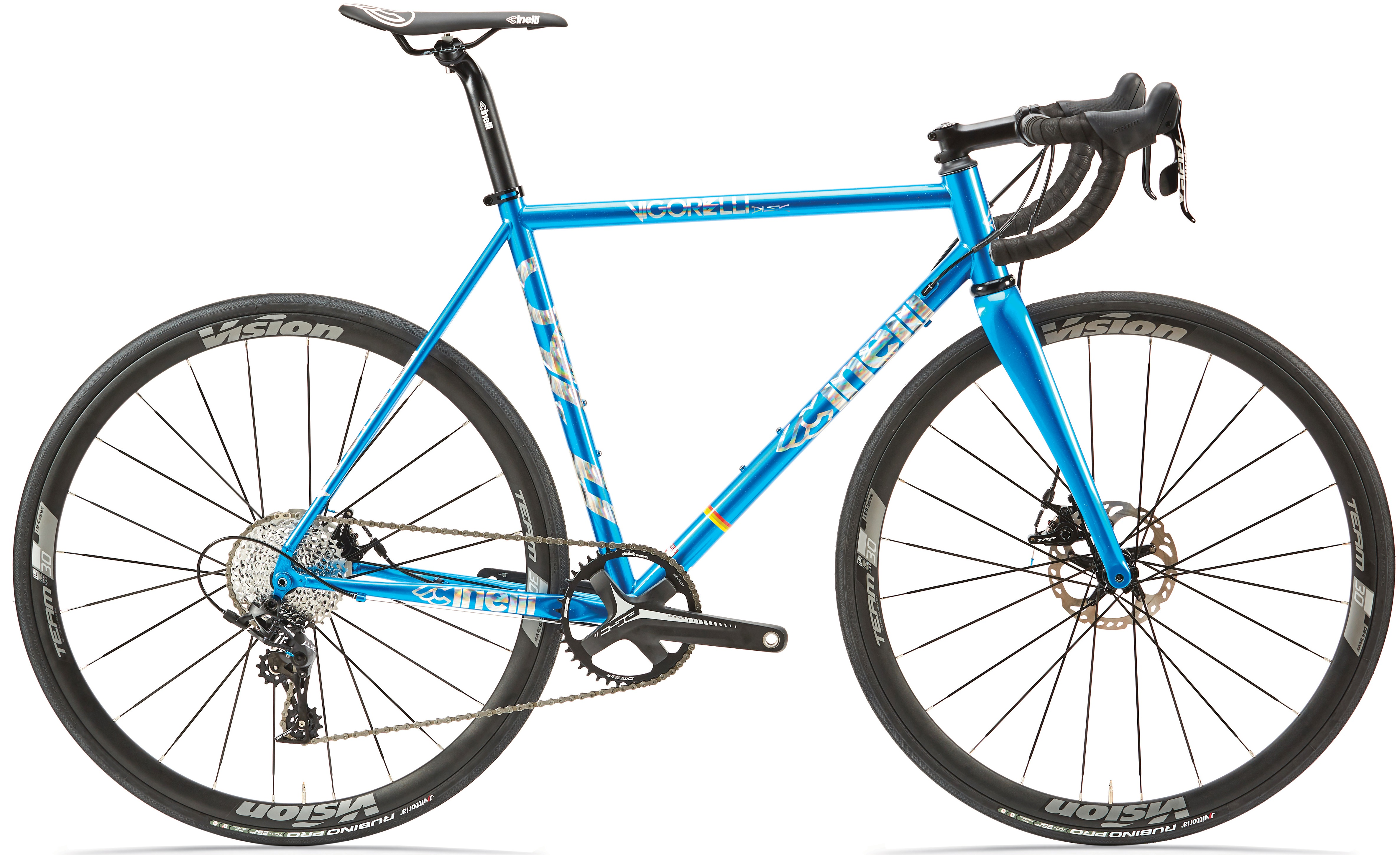 kolo cinelli vigorelli road disc apex electron blue 2020