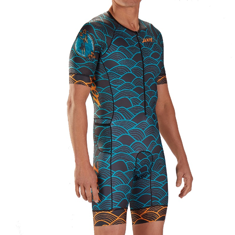 zoot m ltd tri aero ss race suit aloha