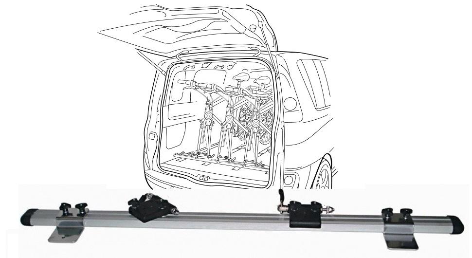 prtljaŽnik peruzzo genova  inside car complete