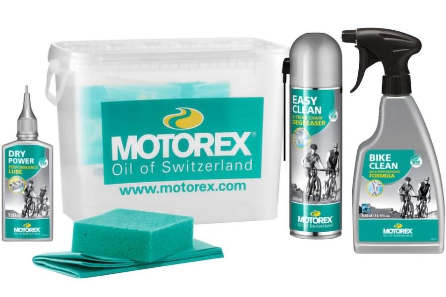 komplet motorex bike cleaning kit