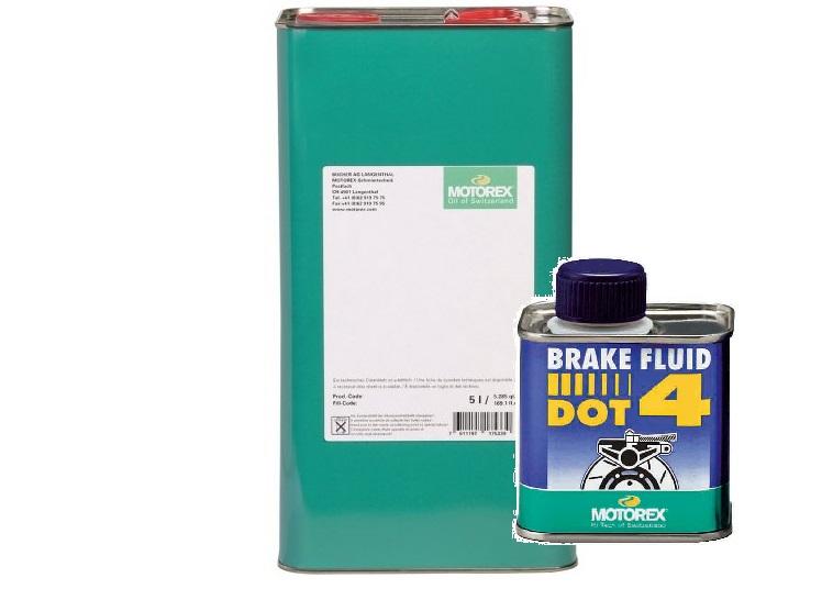 motorex brake fluid dot4 1l tekoČina za hidravliČne zavore